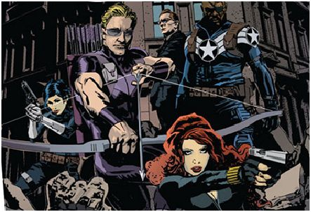Secret Avengers #1 captura