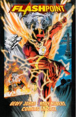 Portada de Flashpoint (2011), de Geoff Johns y Andy Kubert