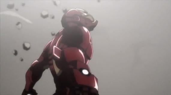 Captura del primer trailer de Iron Man: Rise of Technovore