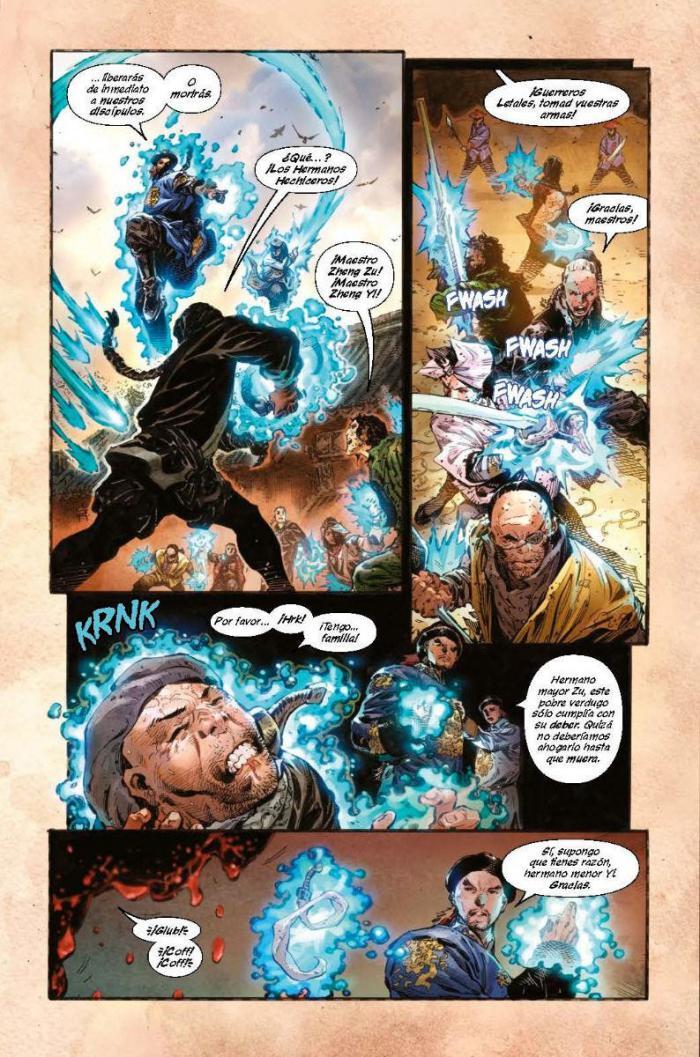 Página interior del cómic.