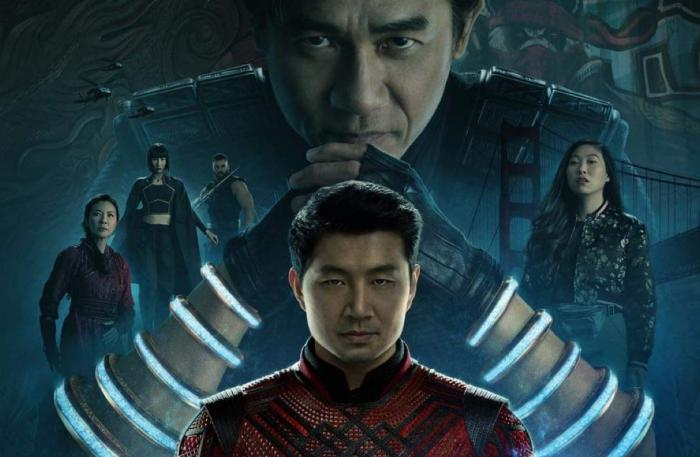 Recorte de póster promocional de Shang-Chi and the Legends of the Ten Rings (2021)