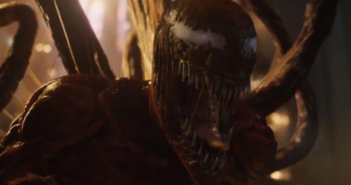 Captura del segundo trailer de Venom: Habrá Matanza (2021)