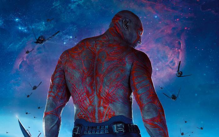 Imagen promocional de Guardianes de la Galaxia (2014), Drax el Destructor