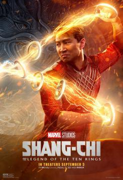 Póster individual de Shang-Chi and the Legend of the Rings (2021)