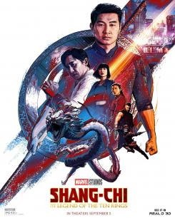 Póster RealD 3D de Shang-Chi and the Legend of the Ten Rings (2021)