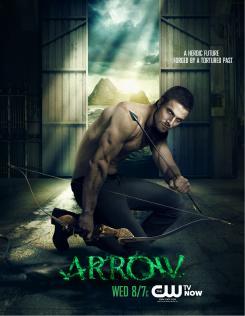 Póster de la primera temporada de Arrow (2012)
