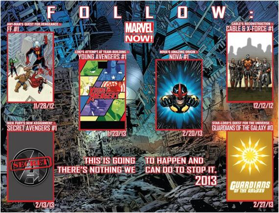 Novedades Marvel NOW!