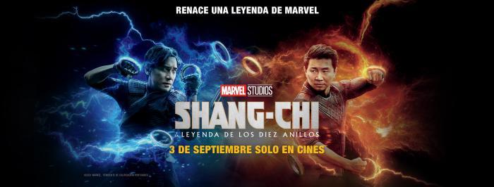 Banner para España de Shang-Chi y la Leyenda de los Diez Anillos (2021)