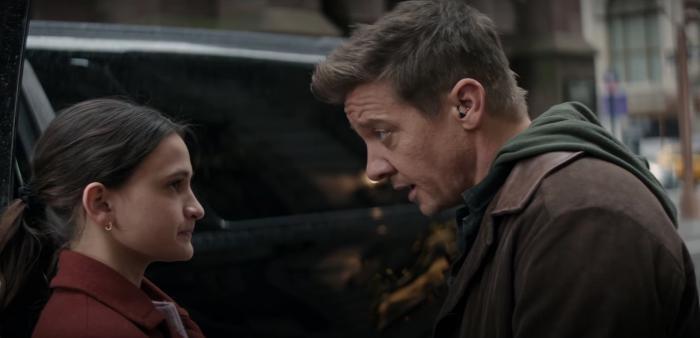 Imagen del primer trailer de Hawkeye (2021)