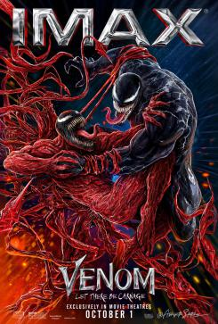 Póster IMAX de Venom: Let There Be Carnage (2021)