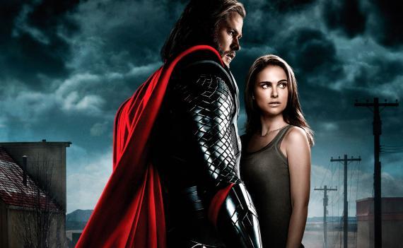 Recorte de póster para Francia de Thor (2011)