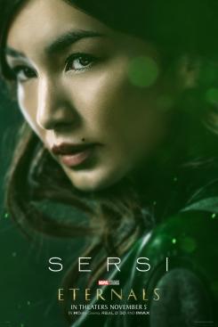 Póster de Sersi en Eternals (2021)