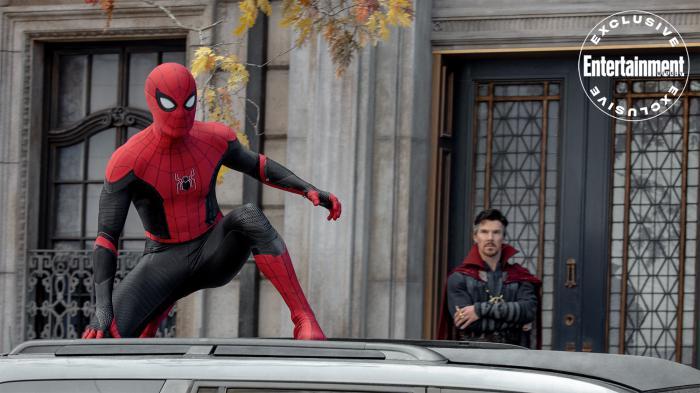 Imagen de Spider-Man: No Way Home (2021), vía Entertainment Weekly