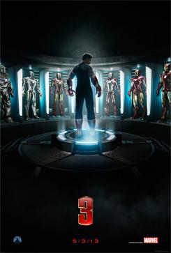 Teaser póster de Iron Man 3 (2013)