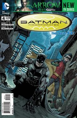 Portada alternativa de Batman Inc. #4