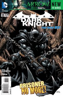 Portada de Batman: The Dark Knight #13