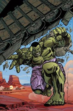 Indestructible Hulk portada alternativa