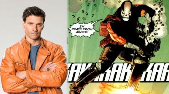 Frank Grillo confirmado como Crossbone / Calavera en Captain America: The Winter Soldier (2014)