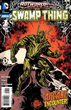 Preview de Swamp Thing Annual #1
