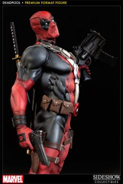 Figura de Deadpool de Sideshow Collectibles 9