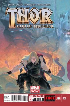Portada Thor God of Thunder 2
