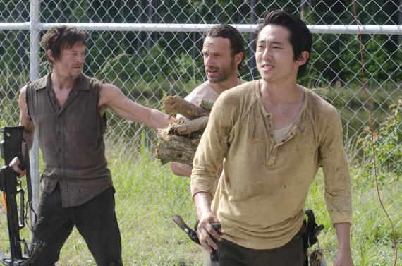 Imagen del episodio 3.04: Killer Within, de la tercera temporada de The Walking Dead (2012)