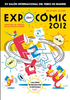 Cartel Expocomic de Madrid 2012