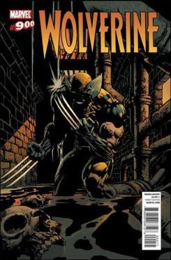Portada del cómic estadounidense Wolverine #900, obra de David Finch y Peter Steigerwald