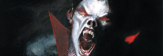 Morbius, The Living Vampire Banner