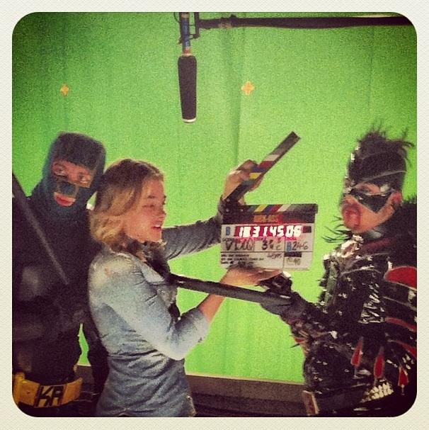 Spoiler final en el set de Kick-Ass 2