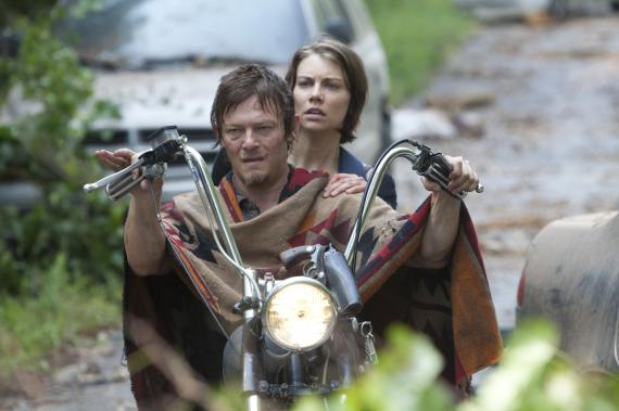 Imagen del episodio 3.05: Say the Word, de la tercera temporada de The Walking Dead (2012)
