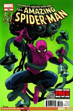 """Amazing Spider-Man #699"" Portada"