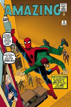"Portada Alternativa de Steve Ditko para ""Amazing Spider-Man #700"""