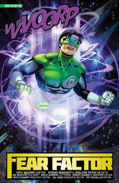Preview de Green Lantern: New Guardians #14