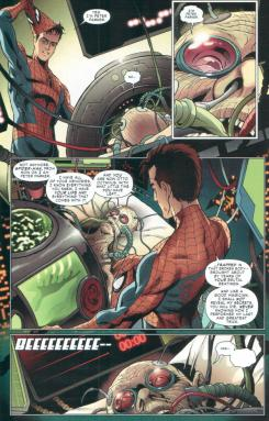 "Final de ""Amazing Spider-Man #698"""