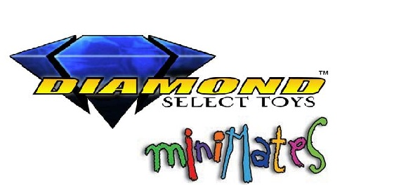 Logo Diamond Select - Minimates