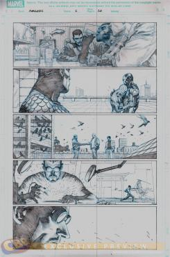 """Avengers #2"" Preview 1"
