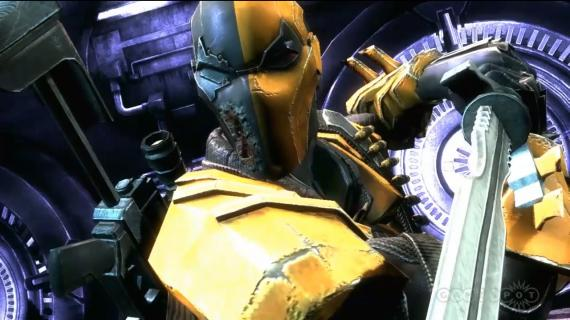 Deathstroke en Injustice: Gods Among Us