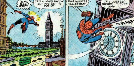 Imagen del comic The Amazing Spider-Man #95