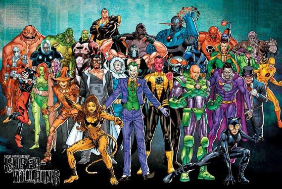 Super Villanos de DC Comics