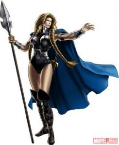 Valkiria disponible en Avengers Alliance