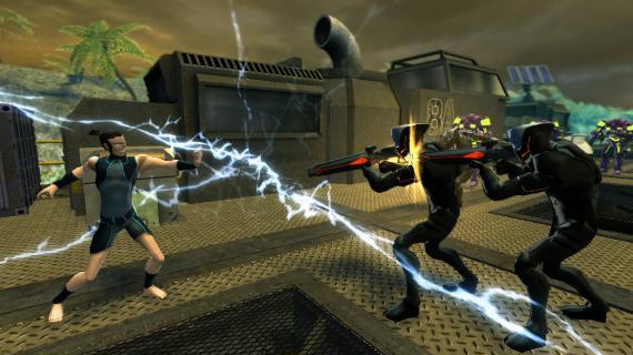 Imagen del videojuego Young Justice: Legacy (2013)