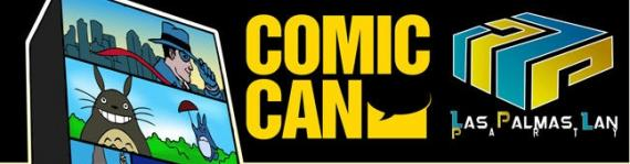 Comic-Can Banner Negro grande