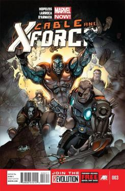 """""""Cable and X-Force #3"""" Portada"""