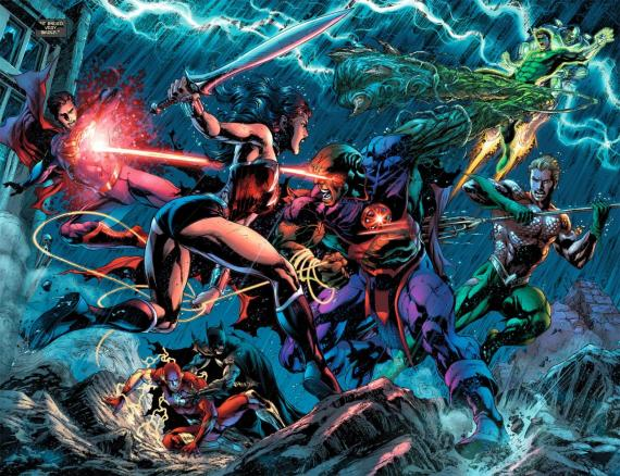 Martian Manhunter vs. the Justice League