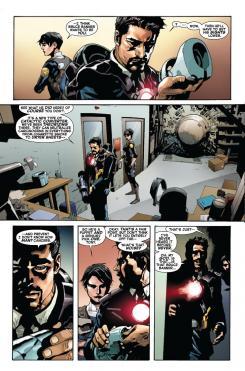 Imagen del interior del cómic Indestructible Hulk #2 (2013)
