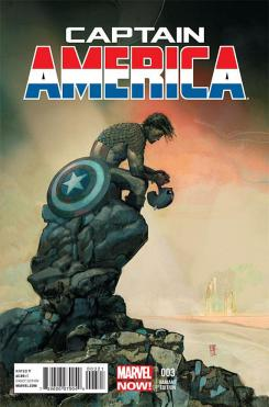 Portada alternativa del cómic Captain America #3 (2013)
