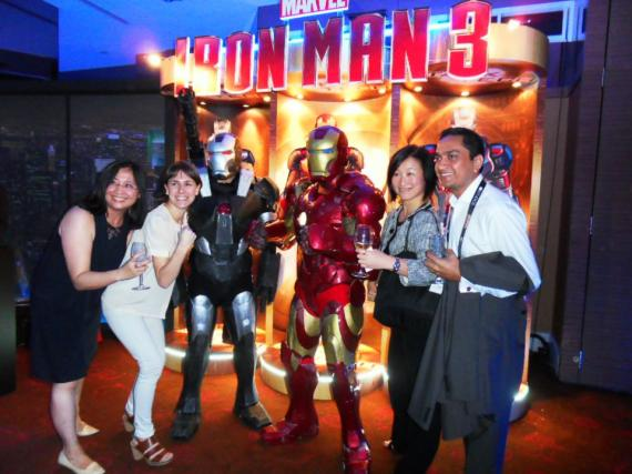 Iron Man 3 en la ContentAsia Summit 2012 (Singapur, Asia)