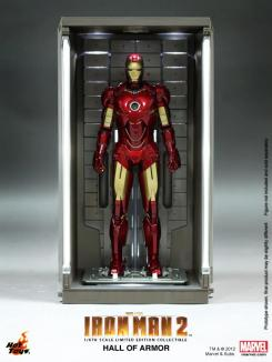Hall of Armor de Iron Man 2 de Hot Toys