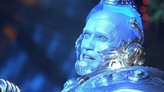 Arnold Schwarzenegger como Mr. Freeze en Batman y Robin (1997)